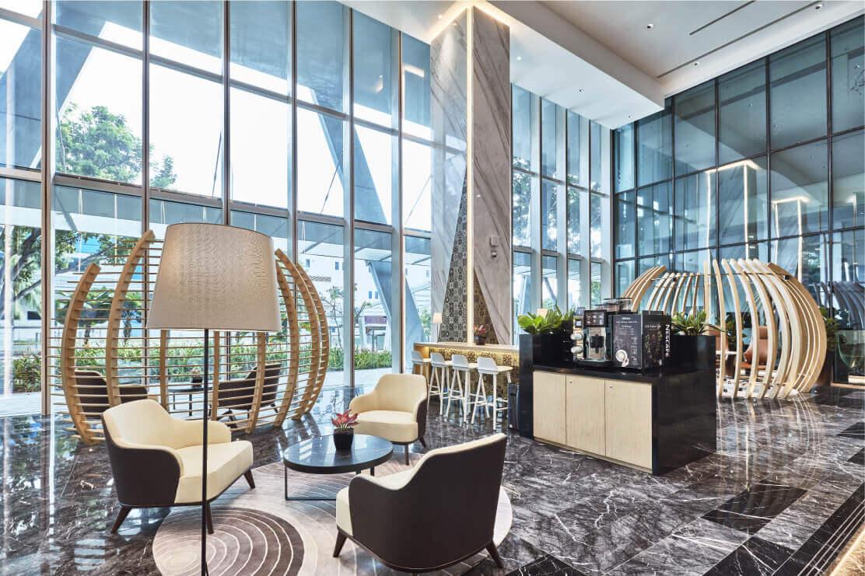 One@Changi City Lobby