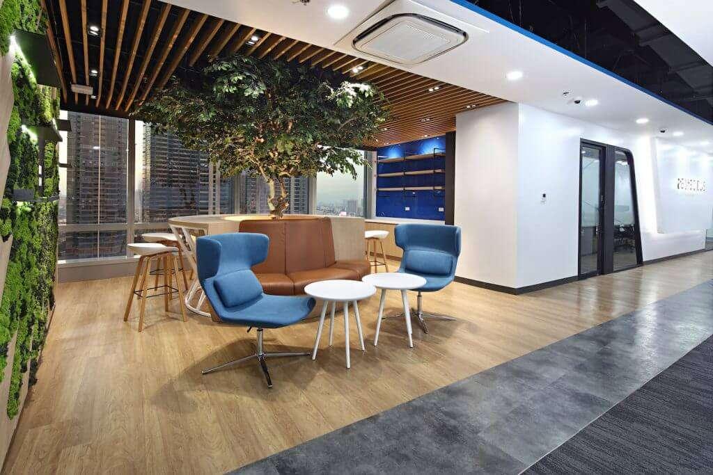 Interior Design Workplace Transformation