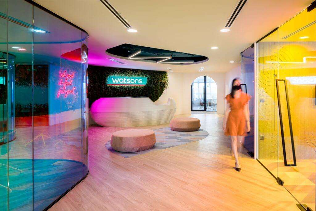 Watsons Corporate Office Interior Design