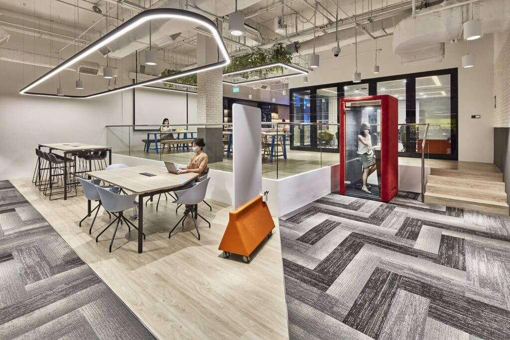 YTL PowerSeraya Corporate Office Interior Design